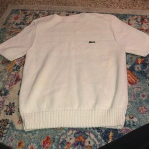Vintage Lacoste White Sweater!